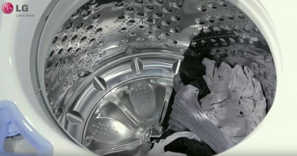 lg washer won't drain