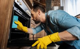 how to make natural oven cleaner