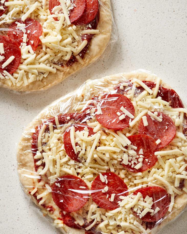 freezer pizzas diy