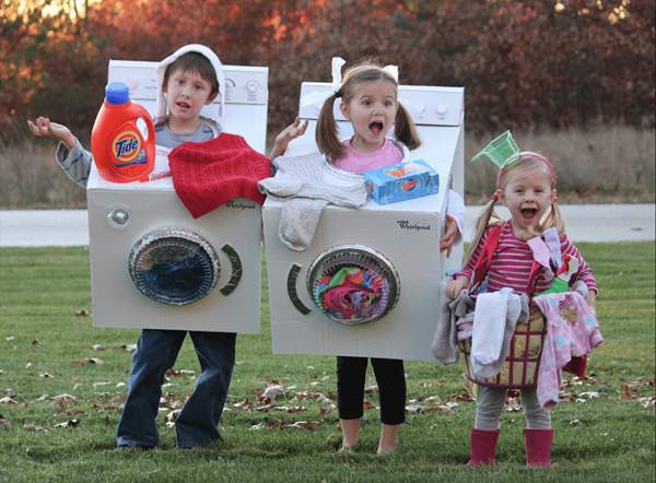 laundry room group costume