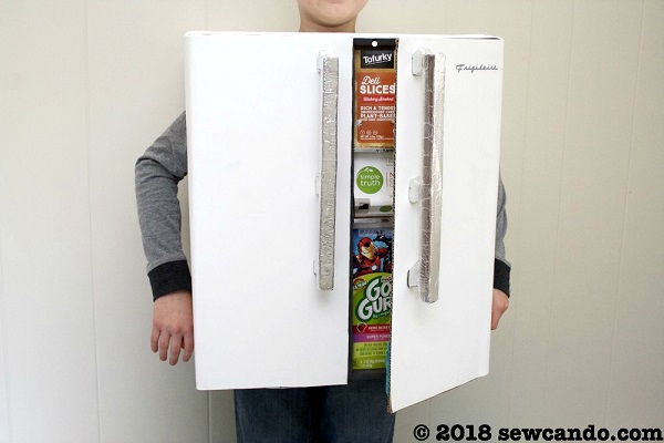 kids refrigerator costume