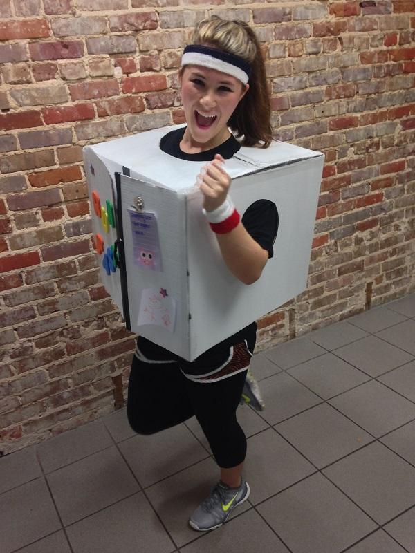 refrigerator running costume