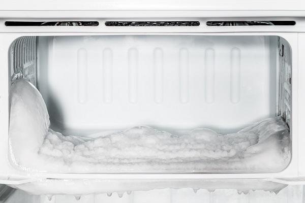 refrigerator warm freezer cold